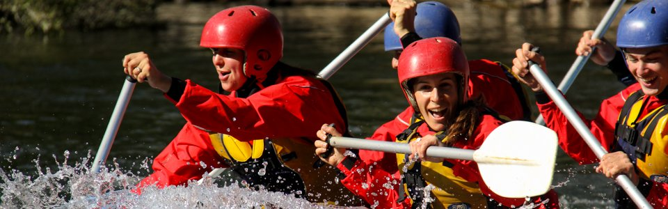 River rafting fun