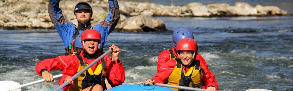 River rafting with Bindaree Outdoors